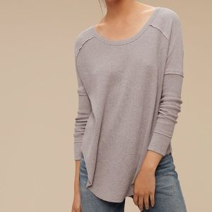 ARITZIA / TNA / ALDER LONG SLEEVE TOP